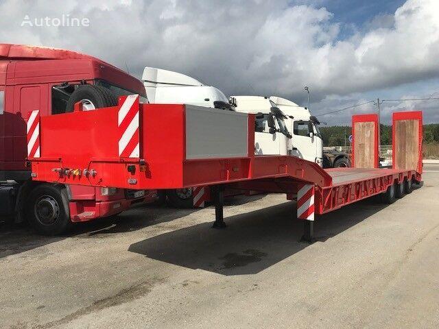 neuer ARB Low Loader for heavy machinery/ Tieflader Auflieger